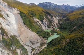 landslip Kaikoura earthquake