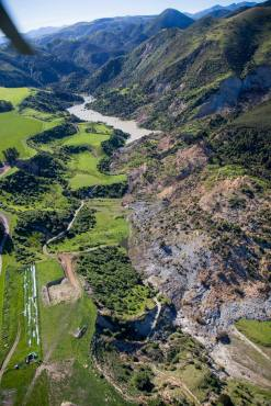 landslip Kaikoura earthquake