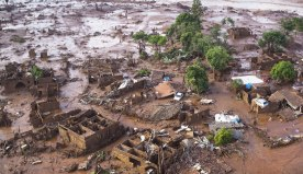 village destroyed by tailings
