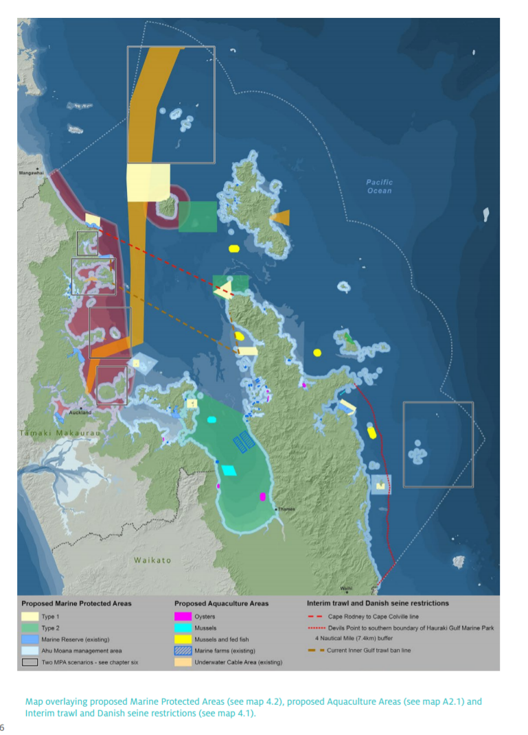 Bold new plan for the Hauraki Gulf announced Tegg Talk Thames