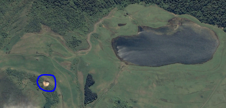 sinkhole google earth