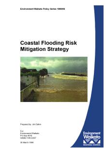 1999 Report coastal flooding risks