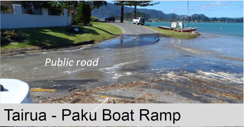 Tairua Paku Boat Ramp