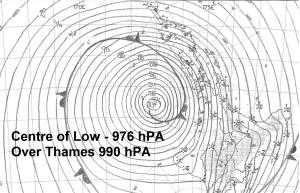 low pressure 5 Jan
