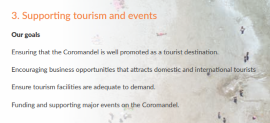 support tourism