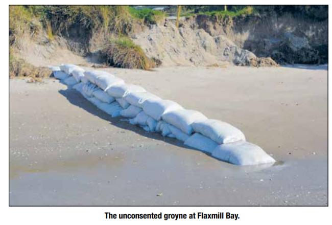 groyne Flaxmill Bay